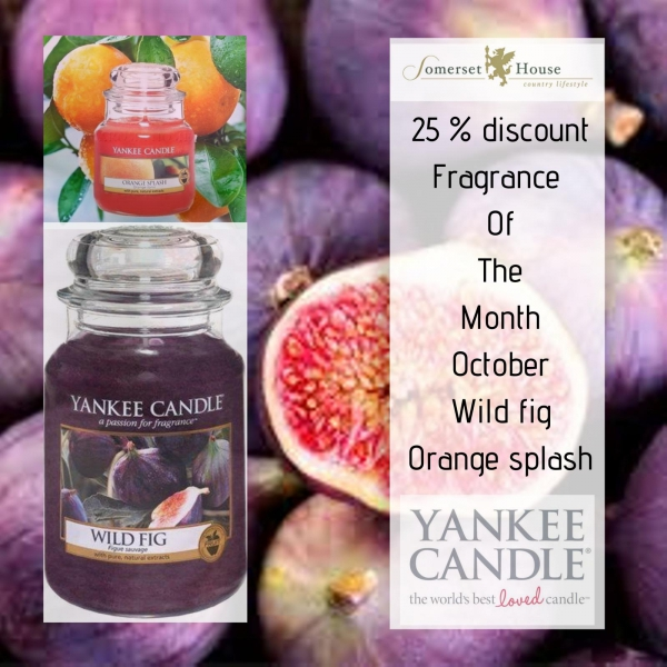 Yankee Candle Fragrance of the Month October